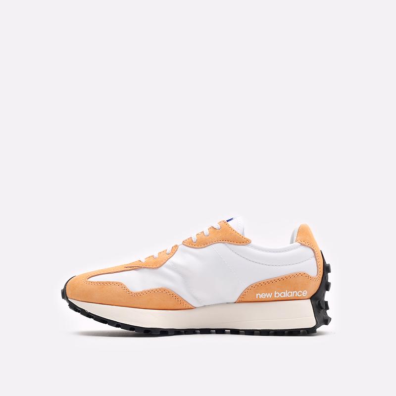 оранжевые  кроссовки new balance 327 C-WS327LF1/B - цена, описание, фото 2
