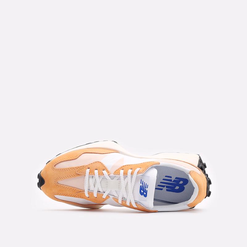 оранжевые  кроссовки new balance 327 C-WS327LF1/B - цена, описание, фото 6
