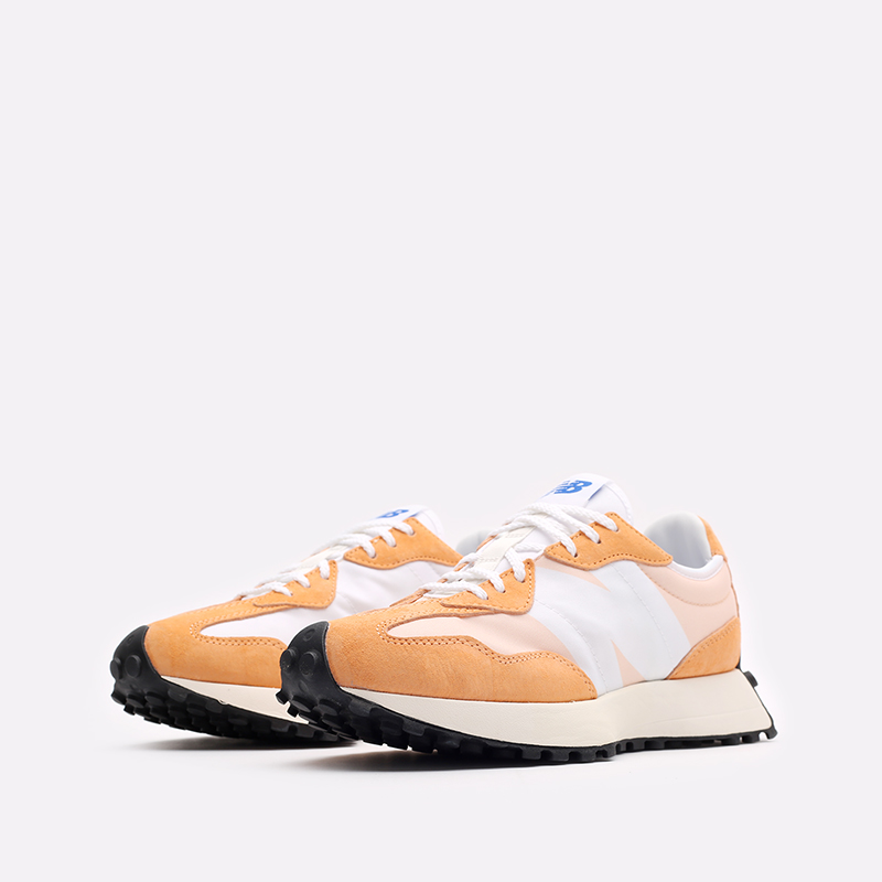 оранжевые  кроссовки new balance 327 C-WS327LF1/B - цена, описание, фото 4