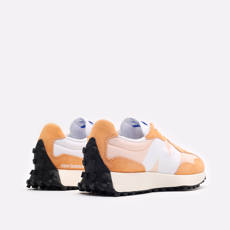оранжевые  кроссовки new balance 327 C-WS327LF1/B - цена, описание, фото 3