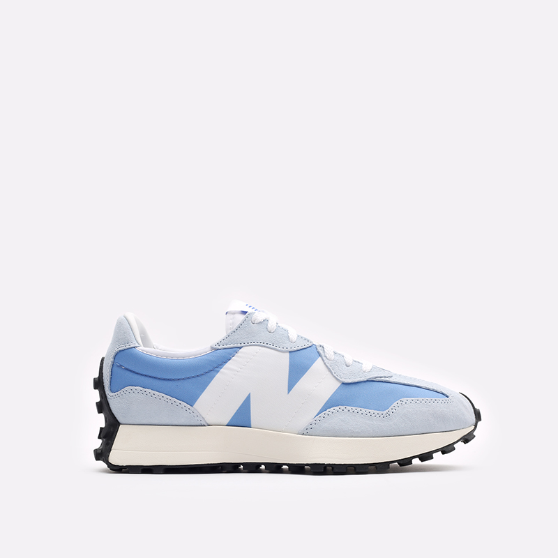 мужские синие  кроссовки new balance 327 C-MS327LC1/D - цена, описание, фото 1