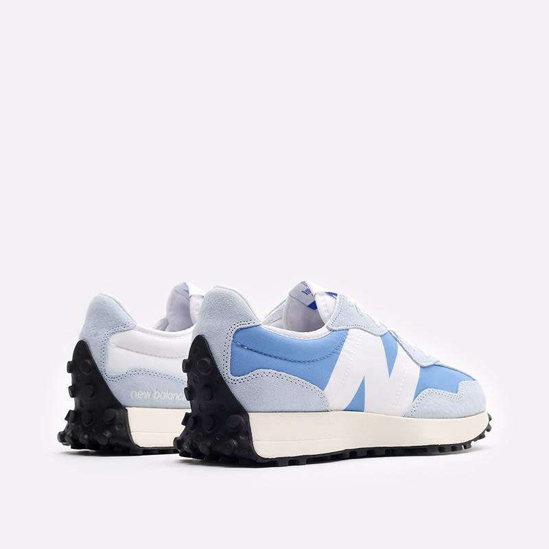 мужские синие  кроссовки new balance 327 C-MS327LC1/D - цена, описание, фото 3