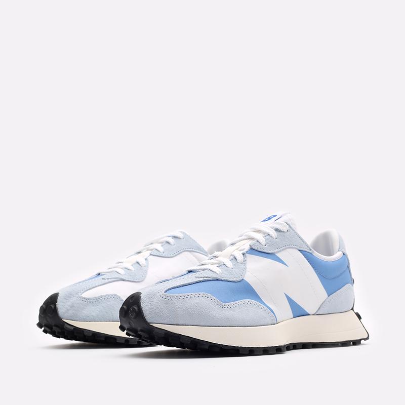мужские синие  кроссовки new balance 327 C-MS327LC1/D - цена, описание, фото 4
