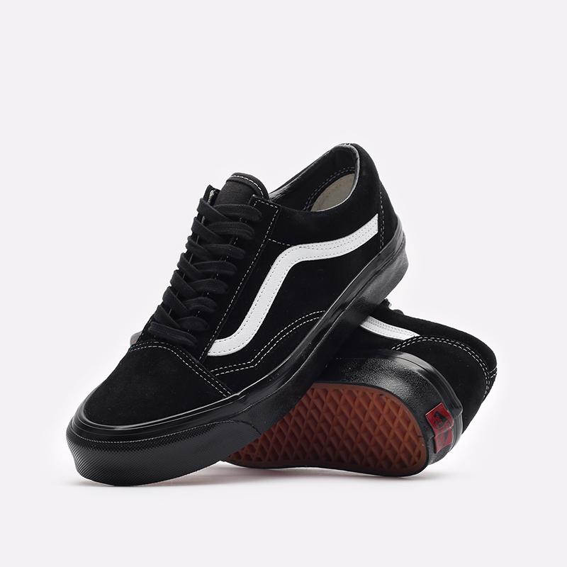 мужские чёрные  кроссовки vans old skool 36 dx VA54F39XNM - цена, описание, фото 2