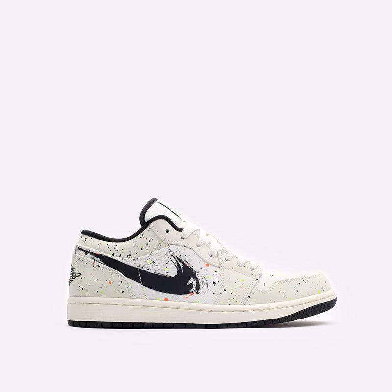 мужские бежевые кроссовки Jordan 1 Low SE DM3528-100 - цена, описание, фото 1