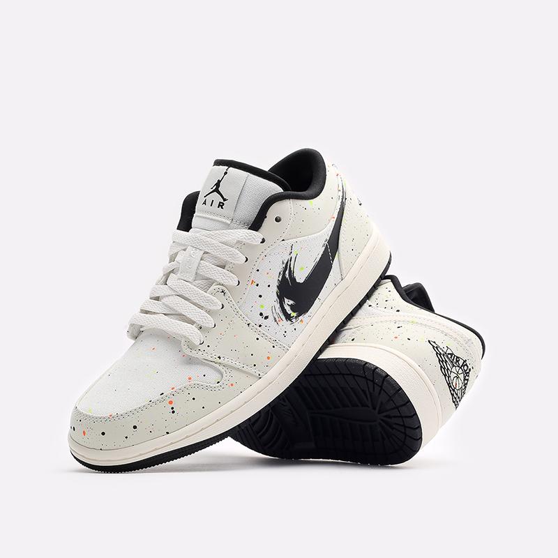 мужские бежевые кроссовки Jordan 1 Low SE DM3528-100 - цена, описание, фото 7