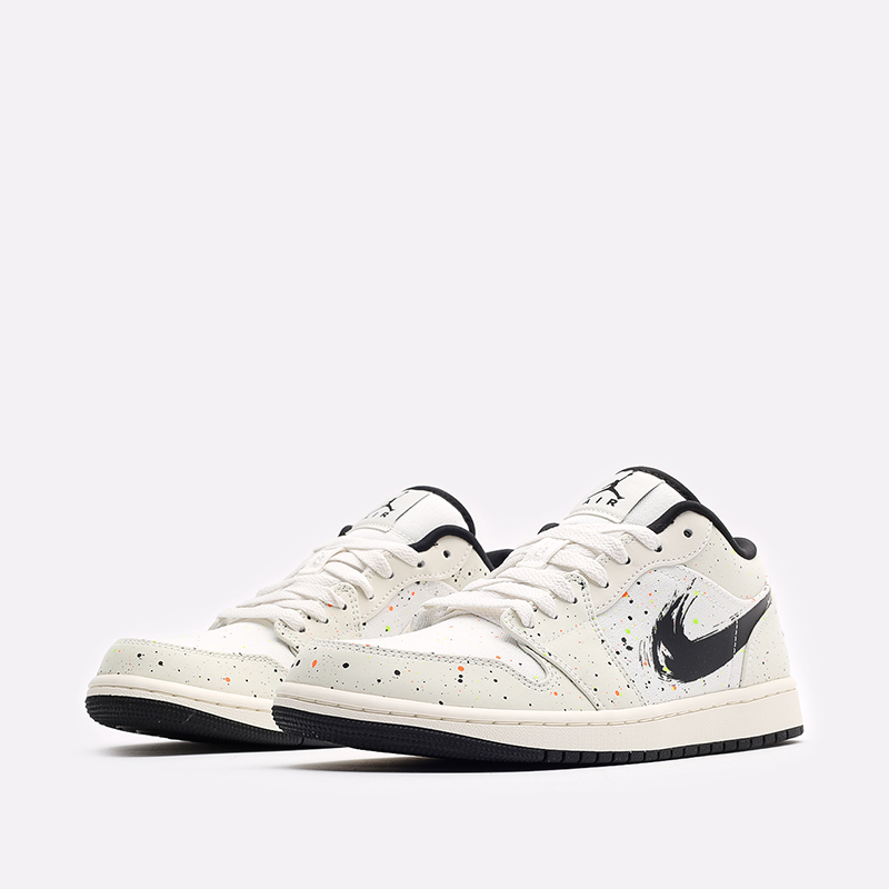 мужские бежевые кроссовки Jordan 1 Low SE DM3528-100 - цена, описание, фото 4