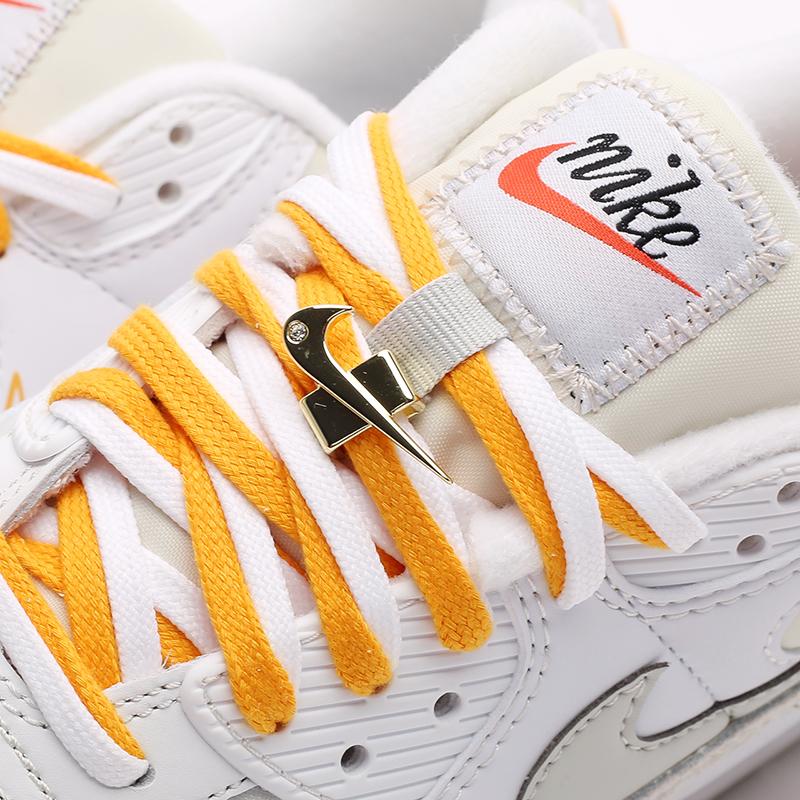 женские бежевые  кроссовки nike wmns air max 90 se DA8709-100 - цена, описание, фото 7