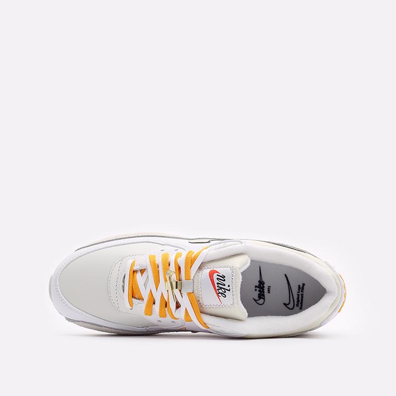 женские бежевые  кроссовки nike wmns air max 90 se DA8709-100 - цена, описание, фото 6