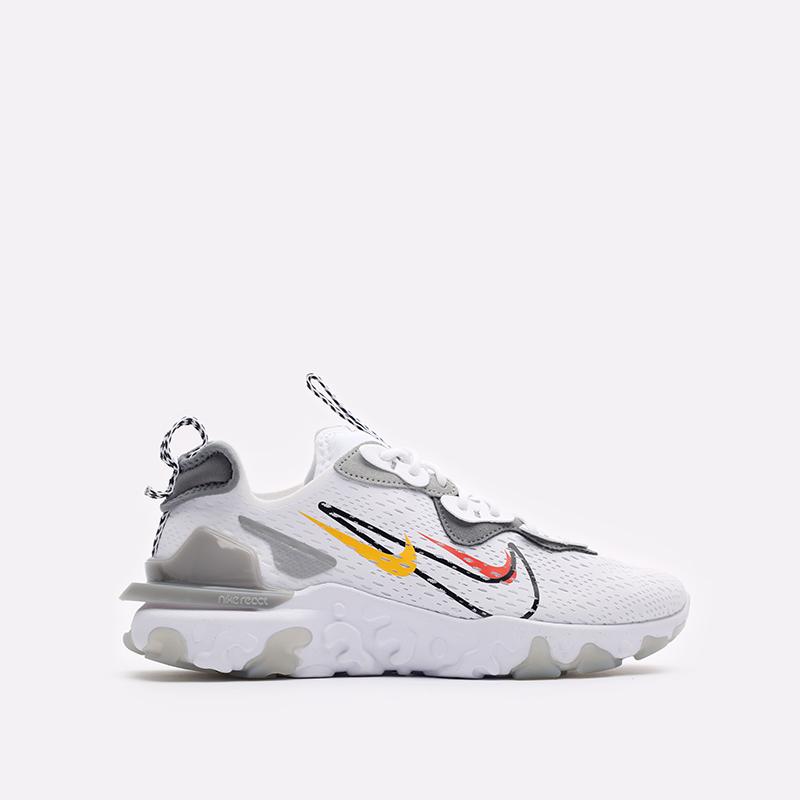 мужские белые кроссовки Nike React Vision DM9095-101 - цена, описание, фото 1