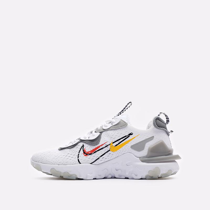 мужские белые кроссовки Nike React Vision DM9095-101 - цена, описание, фото 2
