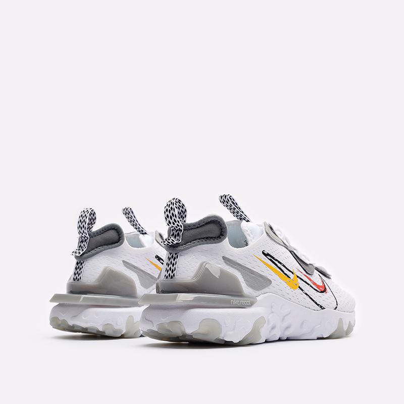 мужские белые кроссовки Nike React Vision DM9095-101 - цена, описание, фото 3