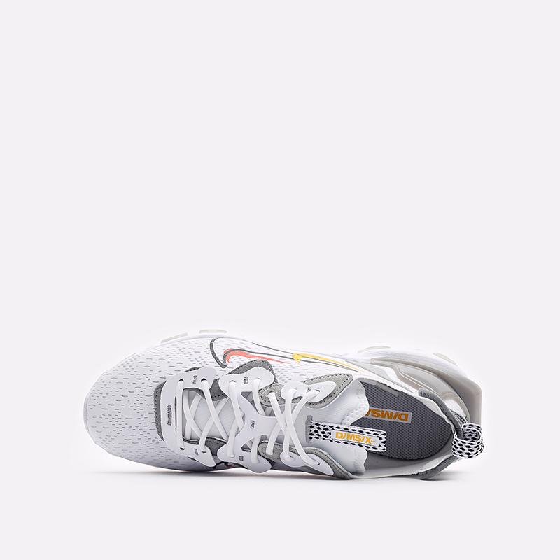 мужские белые кроссовки Nike React Vision DM9095-101 - цена, описание, фото 6
