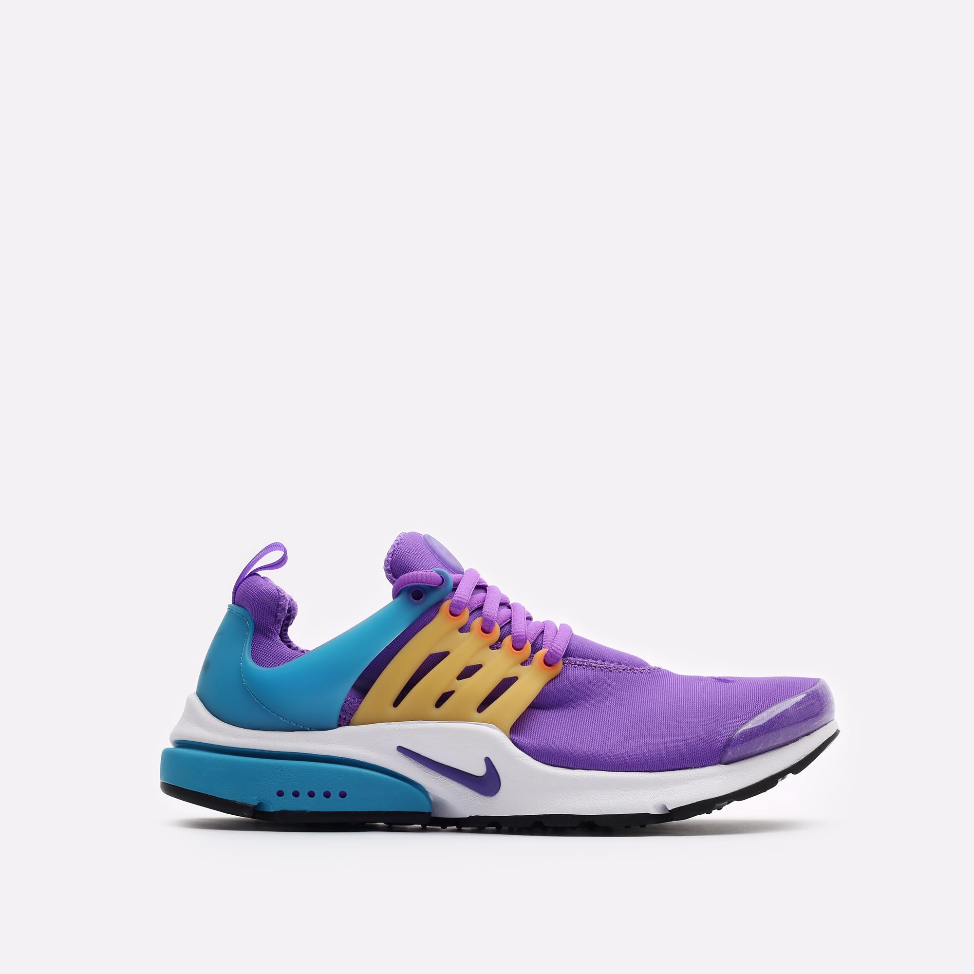 мужские фиолетовые  кроссовки nike air presto CT3550-500 - цена, описание, фото 1