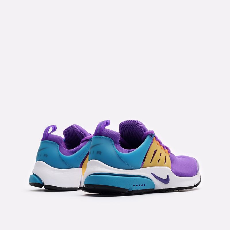 мужские фиолетовые  кроссовки nike air presto CT3550-500 - цена, описание, фото 3