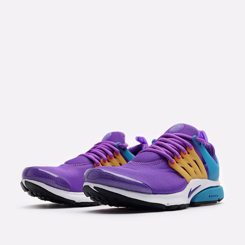 мужские фиолетовые  кроссовки nike air presto CT3550-500 - цена, описание, фото 4