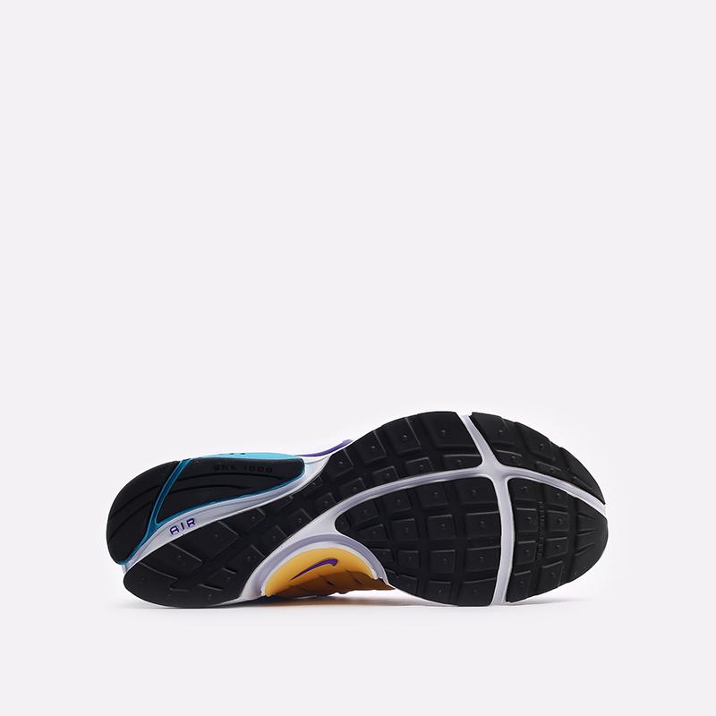 мужские фиолетовые  кроссовки nike air presto CT3550-500 - цена, описание, фото 5