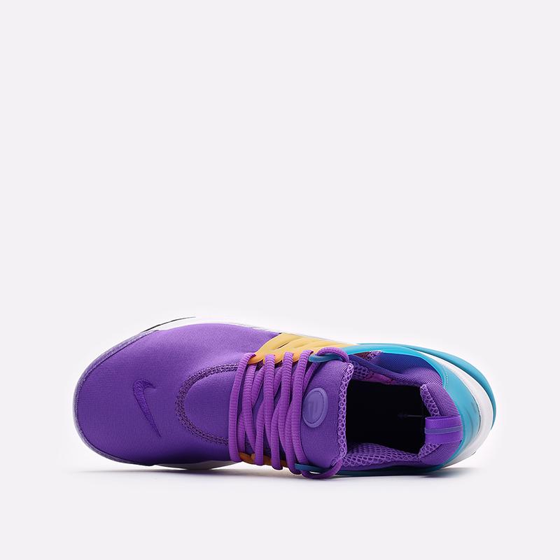 мужские фиолетовые  кроссовки nike air presto CT3550-500 - цена, описание, фото 2