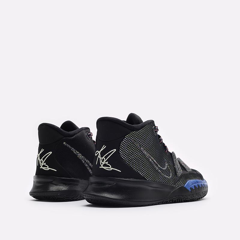 женские черные баскетбольные кроссовки Nike Kyrie 7 (GS) CT4080-007 - цена, описание, фото 3