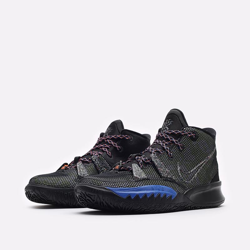 женские черные баскетбольные кроссовки Nike Kyrie 7 (GS) CT4080-007 - цена, описание, фото 4