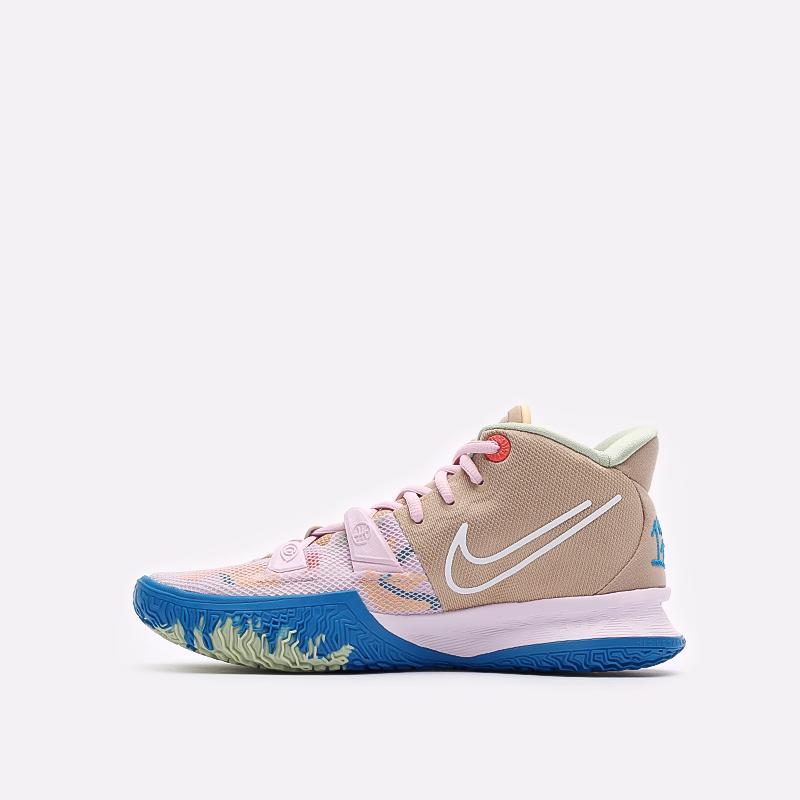 розовые баскетбольные кроссовки Nike Kyrie 7 CQ9326-600 - цена, описание, фото 2