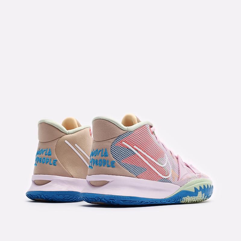 розовые баскетбольные кроссовки Nike Kyrie 7 CQ9326-600 - цена, описание, фото 3