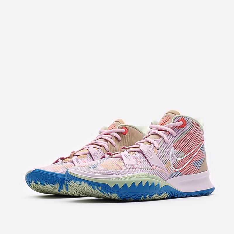 розовые баскетбольные кроссовки Nike Kyrie 7 CQ9326-600 - цена, описание, фото 4