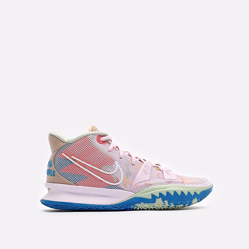 розовые баскетбольные кроссовки Nike Kyrie 7 CQ9326-600 - цена, описание, фото 1