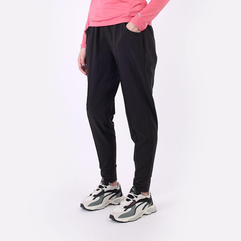 женские черные  брюки puma w cruz jogger 59772201 - цена, описание, фото 1