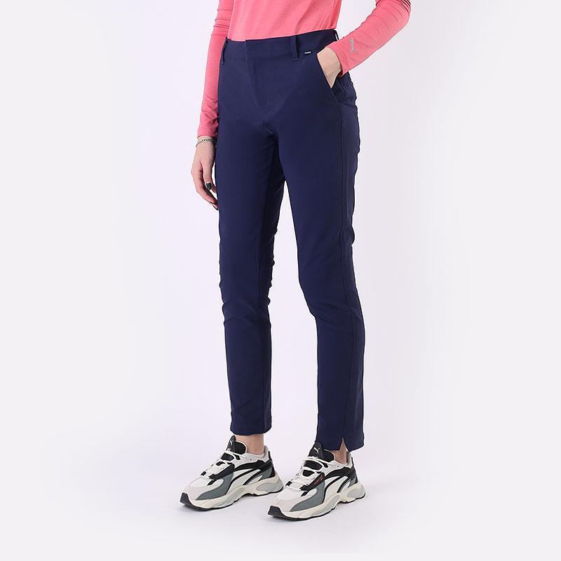женские синие брюки PUMA W Golf Pant 59663004 - цена, описание, фото 1