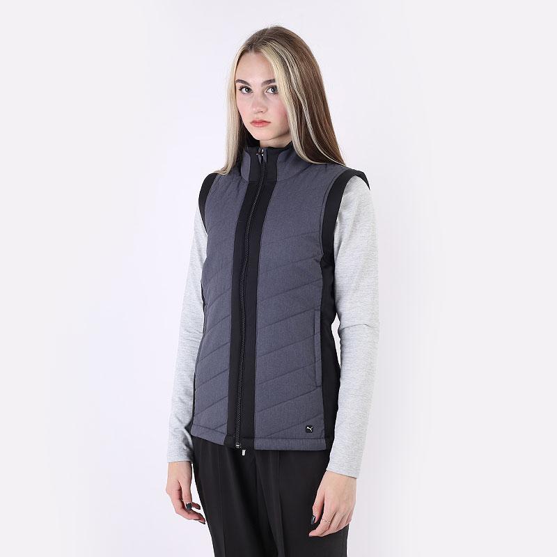 женский серый  жилет puma w promaloft vest 59771001 - цена, описание, фото 1