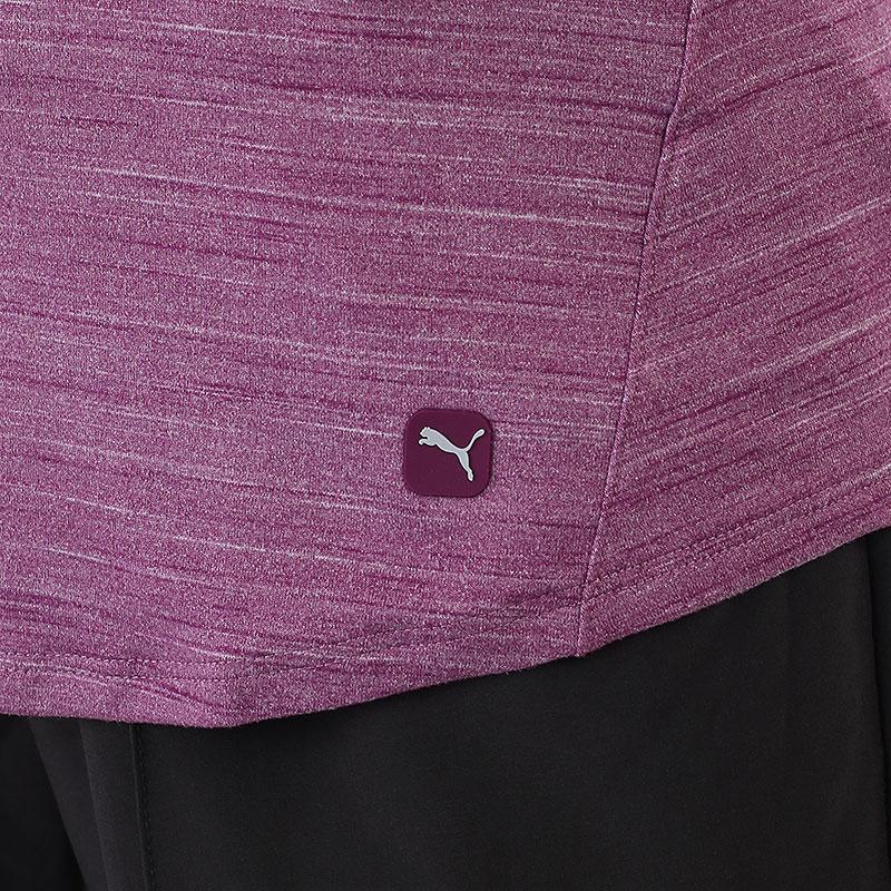 женский фиолетовый  поло puma cloudspun free polo 59769502 - цена, описание, фото 4