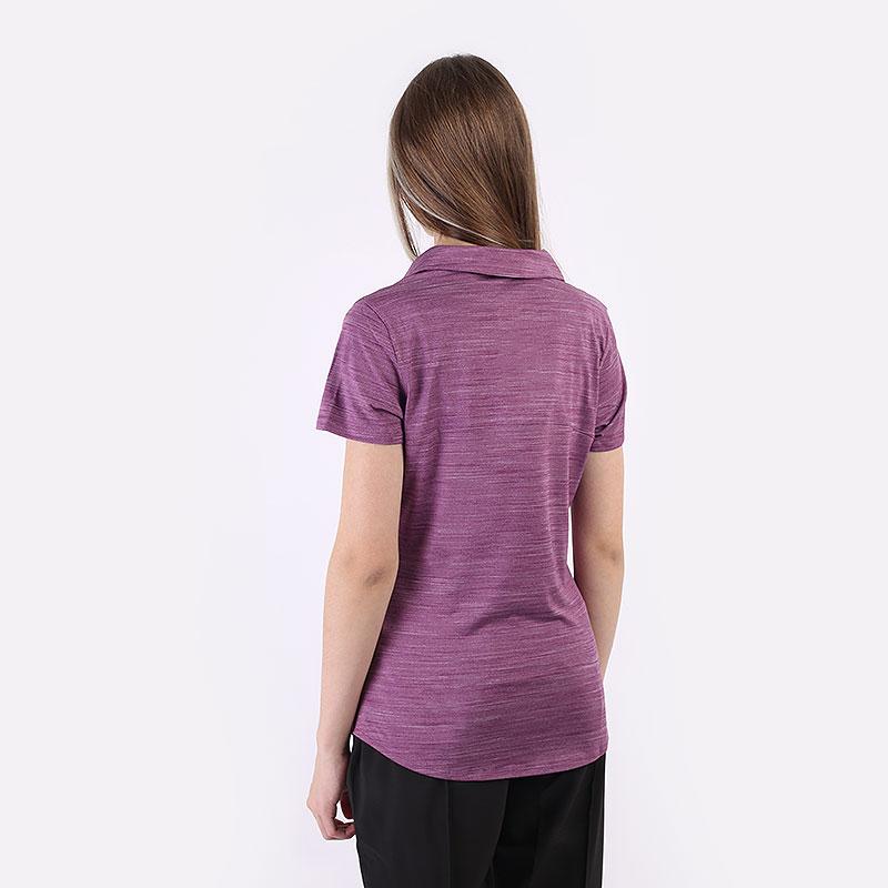 женский фиолетовый  поло puma cloudspun free polo 59769502 - цена, описание, фото 5