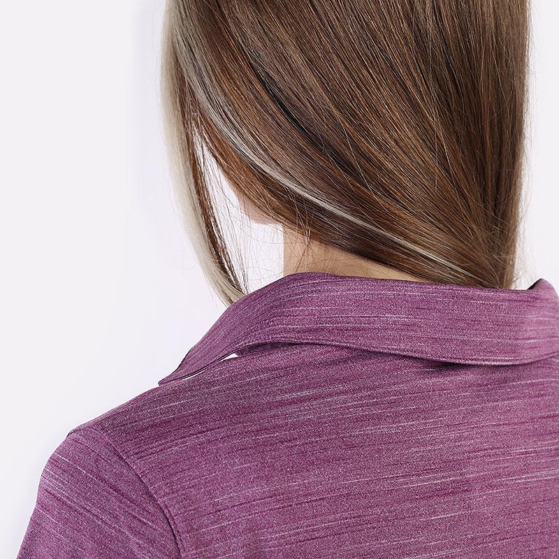 женский фиолетовый  поло puma cloudspun free polo 59769502 - цена, описание, фото 6