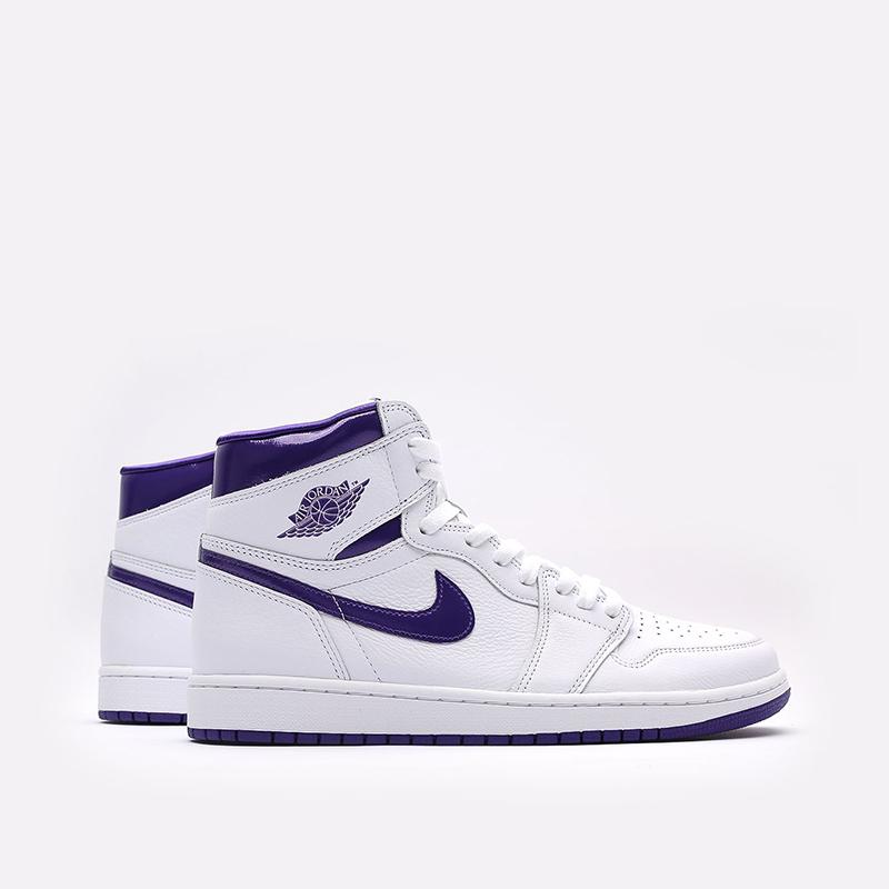 женские белые  кроссовки jordan wmns 1 high og CD0461-151 - цена, описание, фото 1
