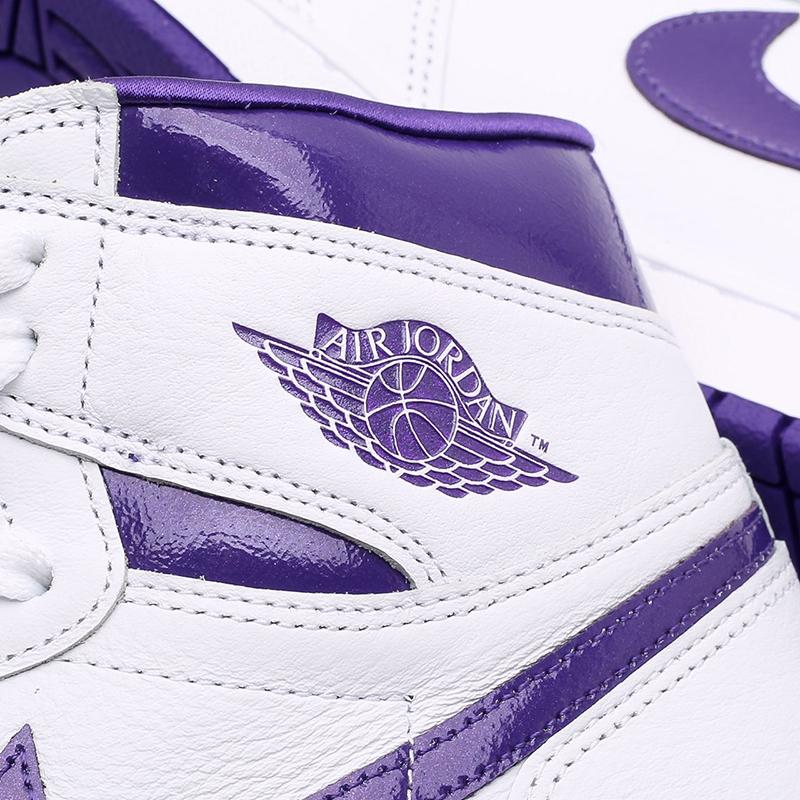 женские белые  кроссовки jordan wmns 1 high og CD0461-151 - цена, описание, фото 7