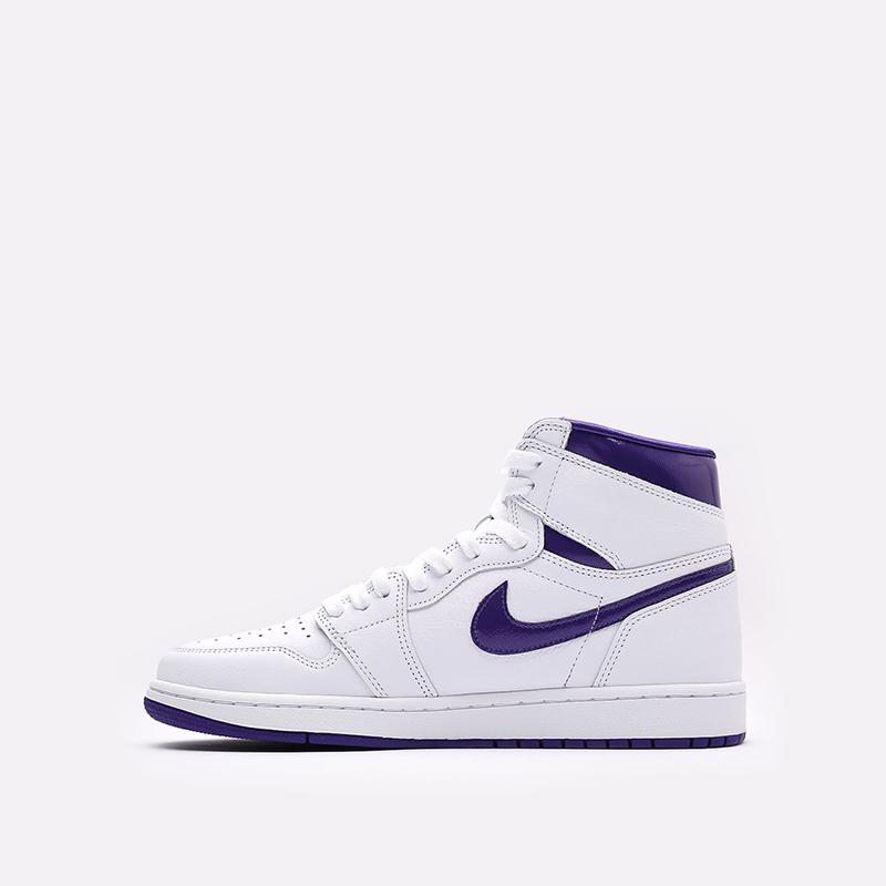 женские белые  кроссовки jordan wmns 1 high og CD0461-151 - цена, описание, фото 2