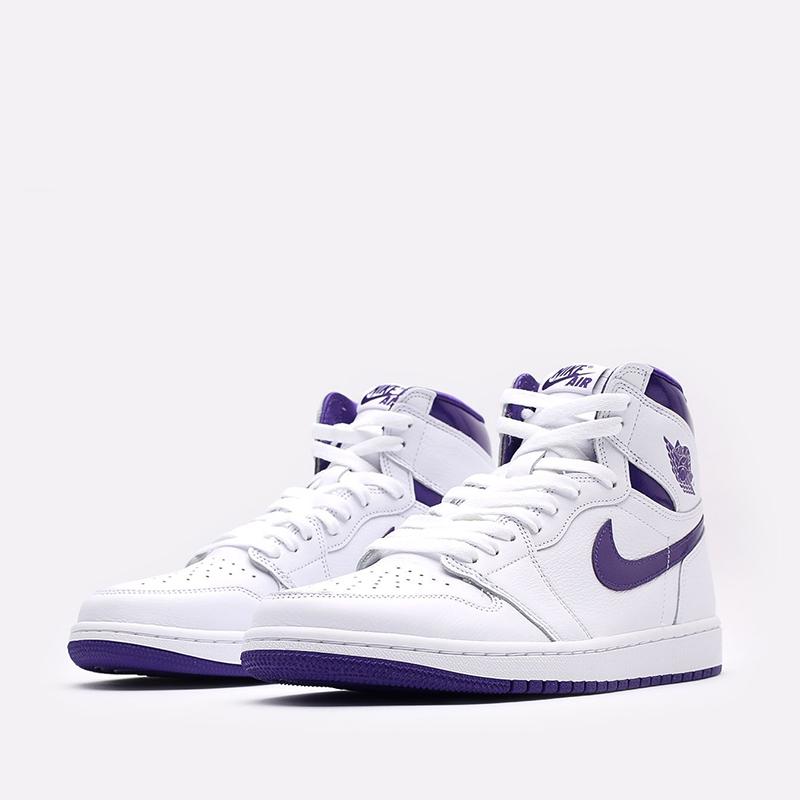женские белые  кроссовки jordan wmns 1 high og CD0461-151 - цена, описание, фото 4