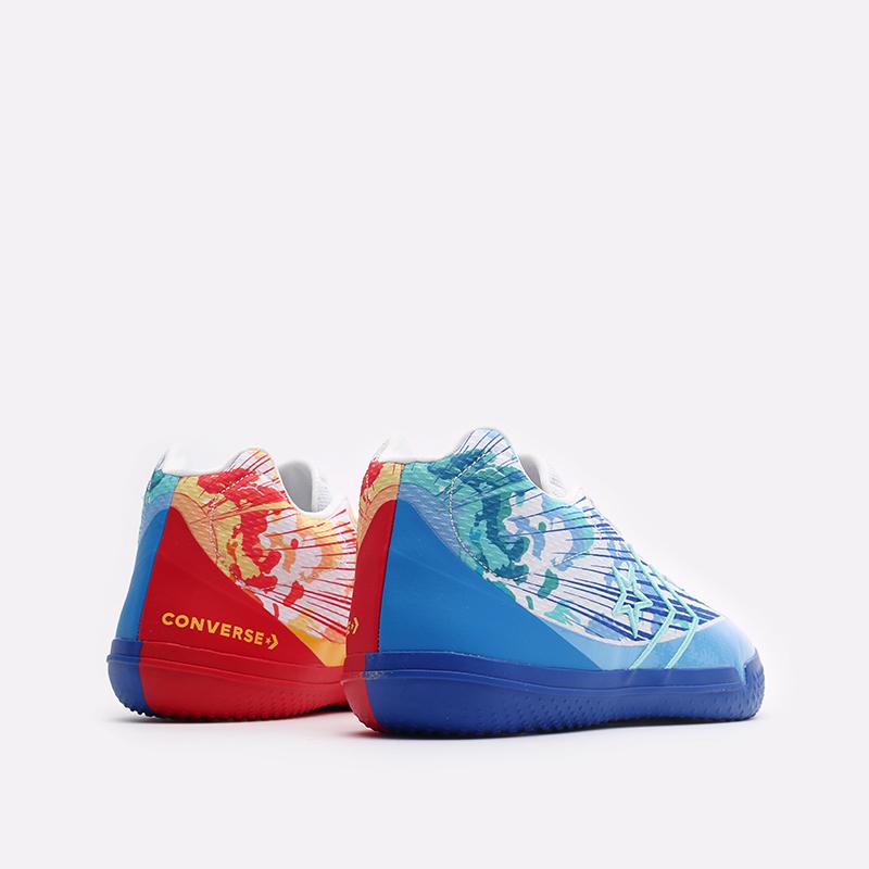 мужские синие баскетбольные кроссовки Converse All Star BB Evo Mid 171310 - цена, описание, фото 3
