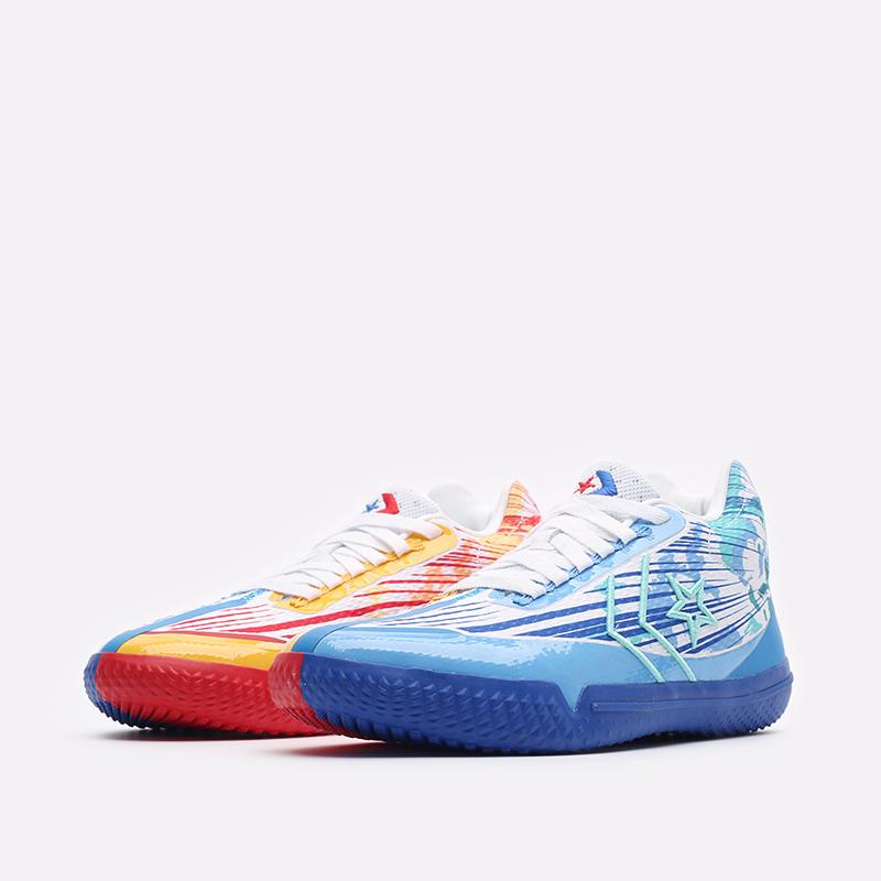 мужские синие баскетбольные кроссовки Converse All Star BB Evo Mid 171310 - цена, описание, фото 4