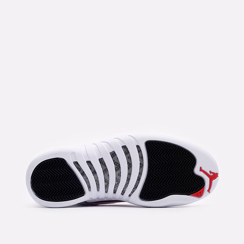 мужские белые кроссовки Jordan 12 Retro CT8013-106 - цена, описание, фото 5
