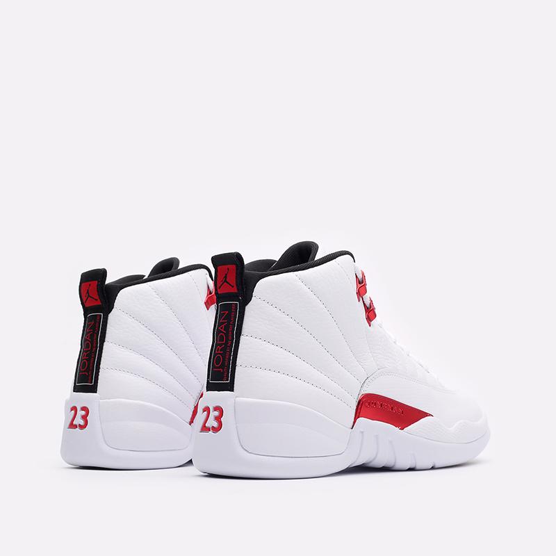 мужские белые кроссовки Jordan 12 Retro CT8013-106 - цена, описание, фото 3