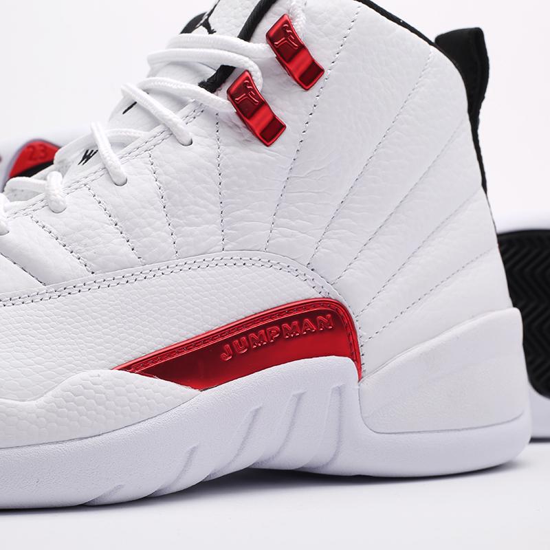 мужские белые кроссовки Jordan 12 Retro CT8013-106 - цена, описание, фото 6