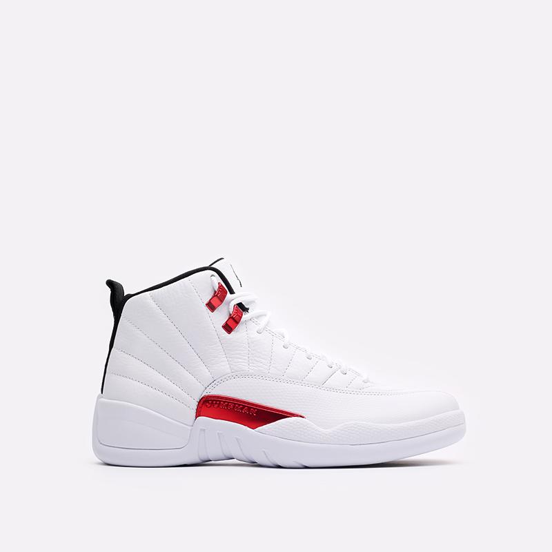 мужские белые кроссовки Jordan 12 Retro CT8013-106 - цена, описание, фото 1
