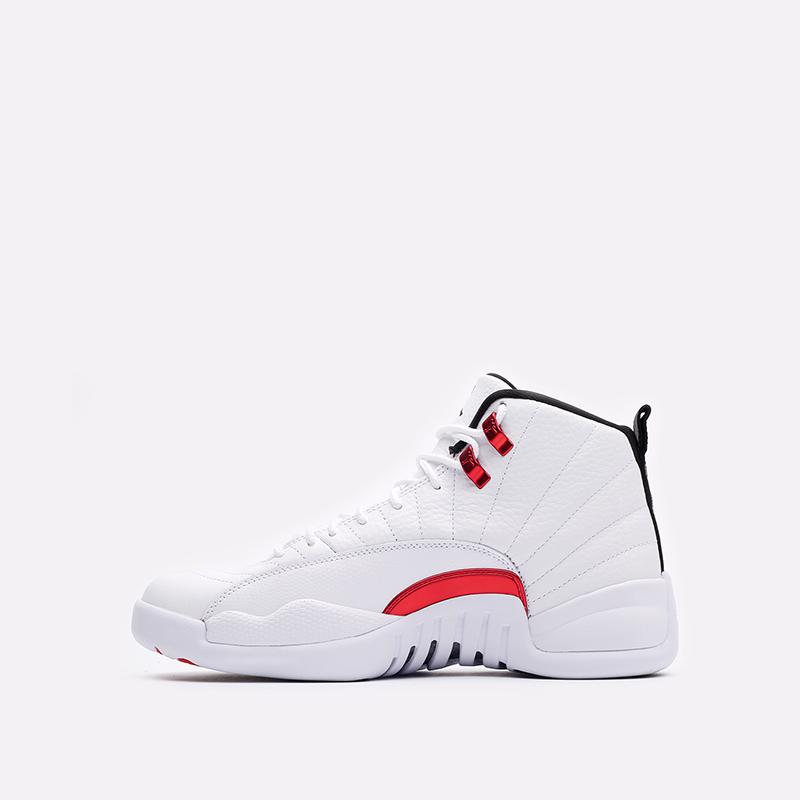 мужские белые кроссовки Jordan 12 Retro CT8013-106 - цена, описание, фото 2