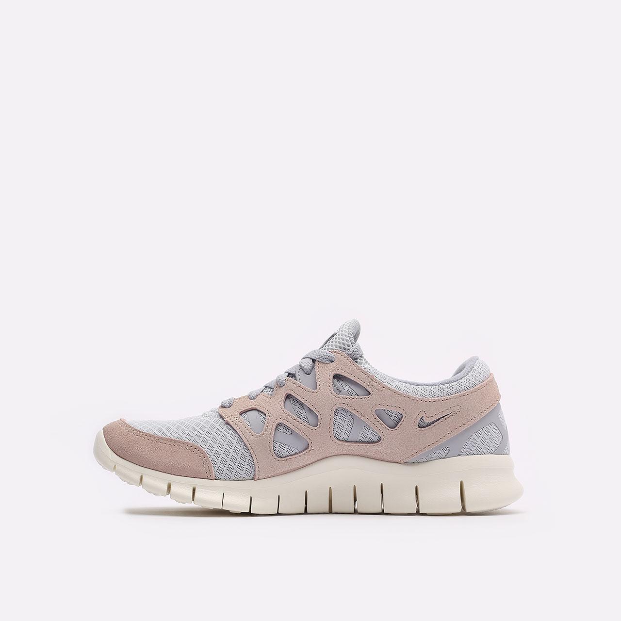 мужские бежевые  кроссовки nike free run 2 537732-013 - цена, описание, фото 2