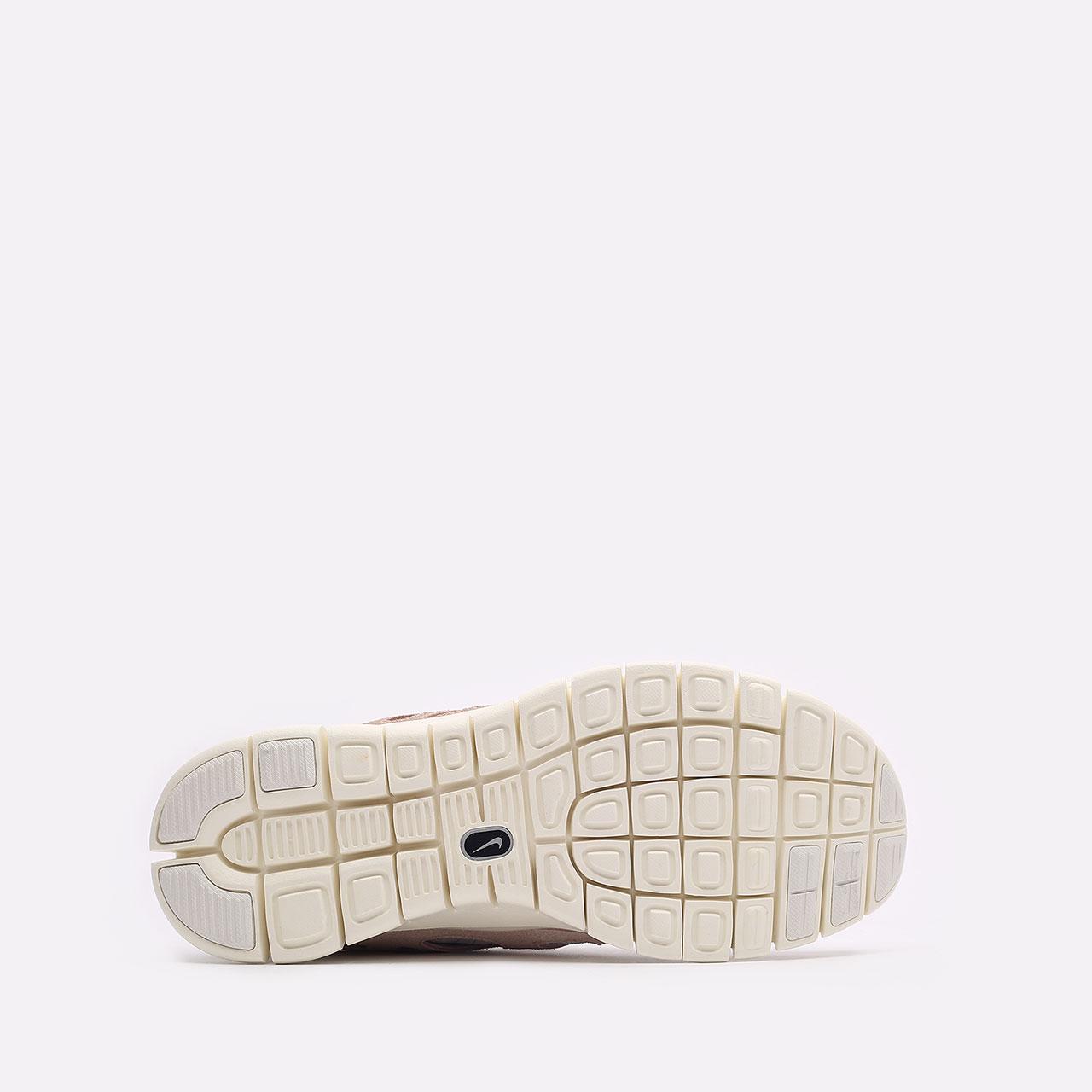 мужские бежевые  кроссовки nike free run 2 537732-013 - цена, описание, фото 5