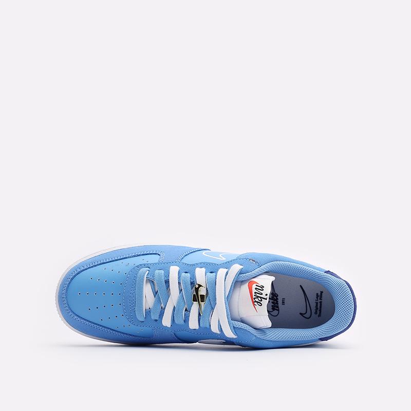 мужские голубые  кроссовки nike air force 1 '07 lv8 DB3597-400 - цена, описание, фото 6