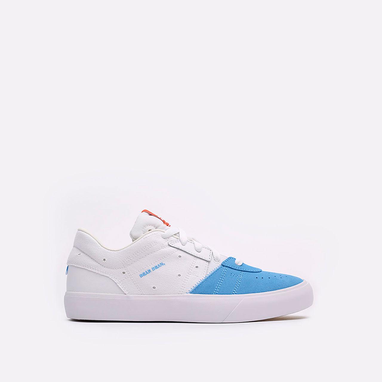 мужские голубые, белые  кроссовки jordan series.02 DJ0417-100 - цена, описание, фото 1