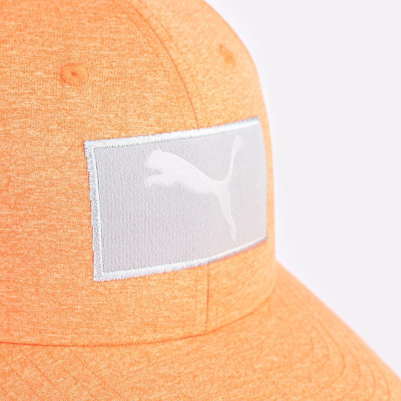 мужскую оранжевую  кепка puma youth utility patch cap 02199804 - цена, описание, фото 2